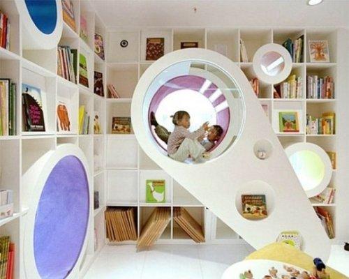 Потрясающие детские комнаты (37 фото)