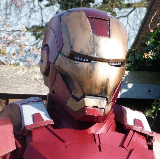 Железный костюм своими руками