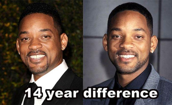 Как с годами меняются звезды