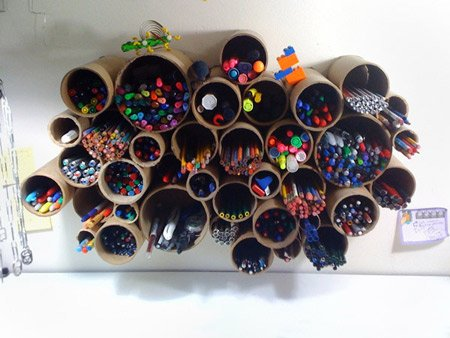 12 Поразительных вещей, сделанных из картонных трубок
