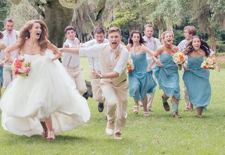 Как сделать две свадьбы