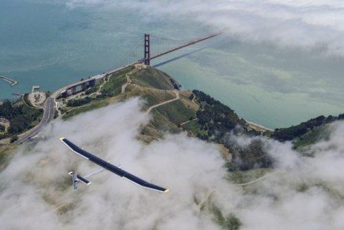 Кругосветный полёт самолёта Solar Impulse (22 фото)