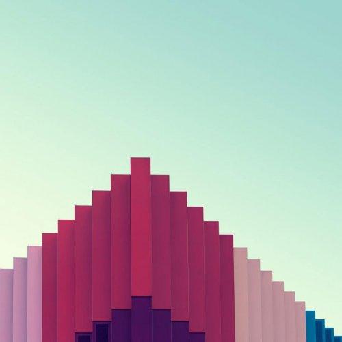 Архитектурно-геометрические фотографии Ника Франка (14 шт)