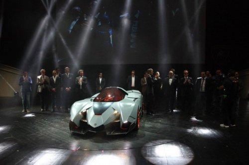 Lamborghini Egoista – концепт, представленный к 50-летию бренда (11 фото)
