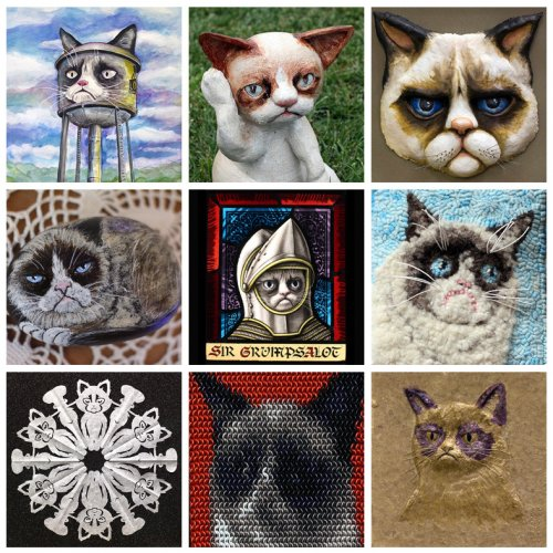 �������������� ������������, ������������ Grumpy Cat (15 ����)