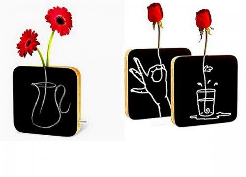 Креативные дизайнерские вазы (12 фото)