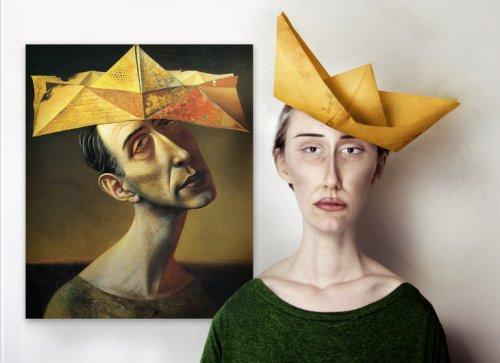 Как могли выглядеть в реальной жизни модели художников