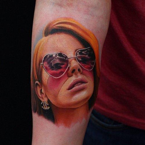 Татуировки от Джона Андертона (31 фото)