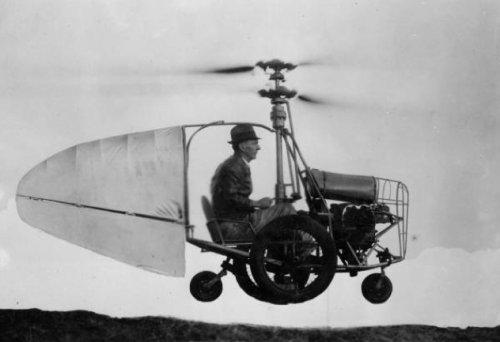 10 Поразительных летающих автомобилей, существовавших на самом деле