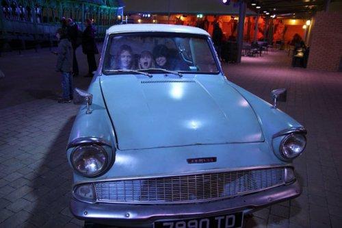 Интересные факты о съёмках фильмов о Гарри Поттере (31 фото)