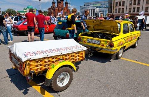 Необычные и странные автомобили (31 фото)