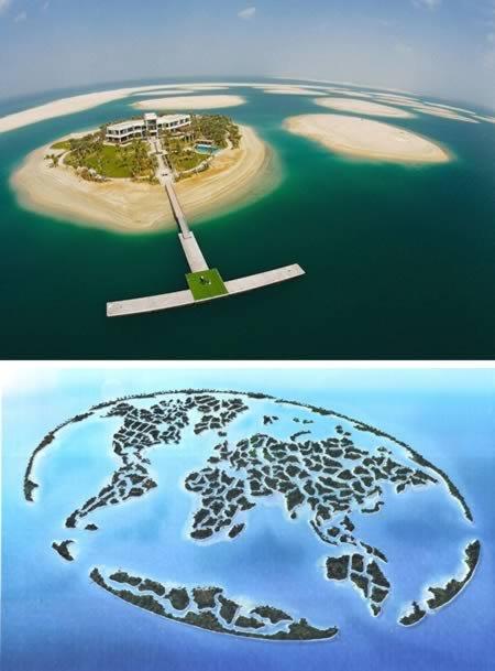 8 Поразительных островов, созданных руками человека