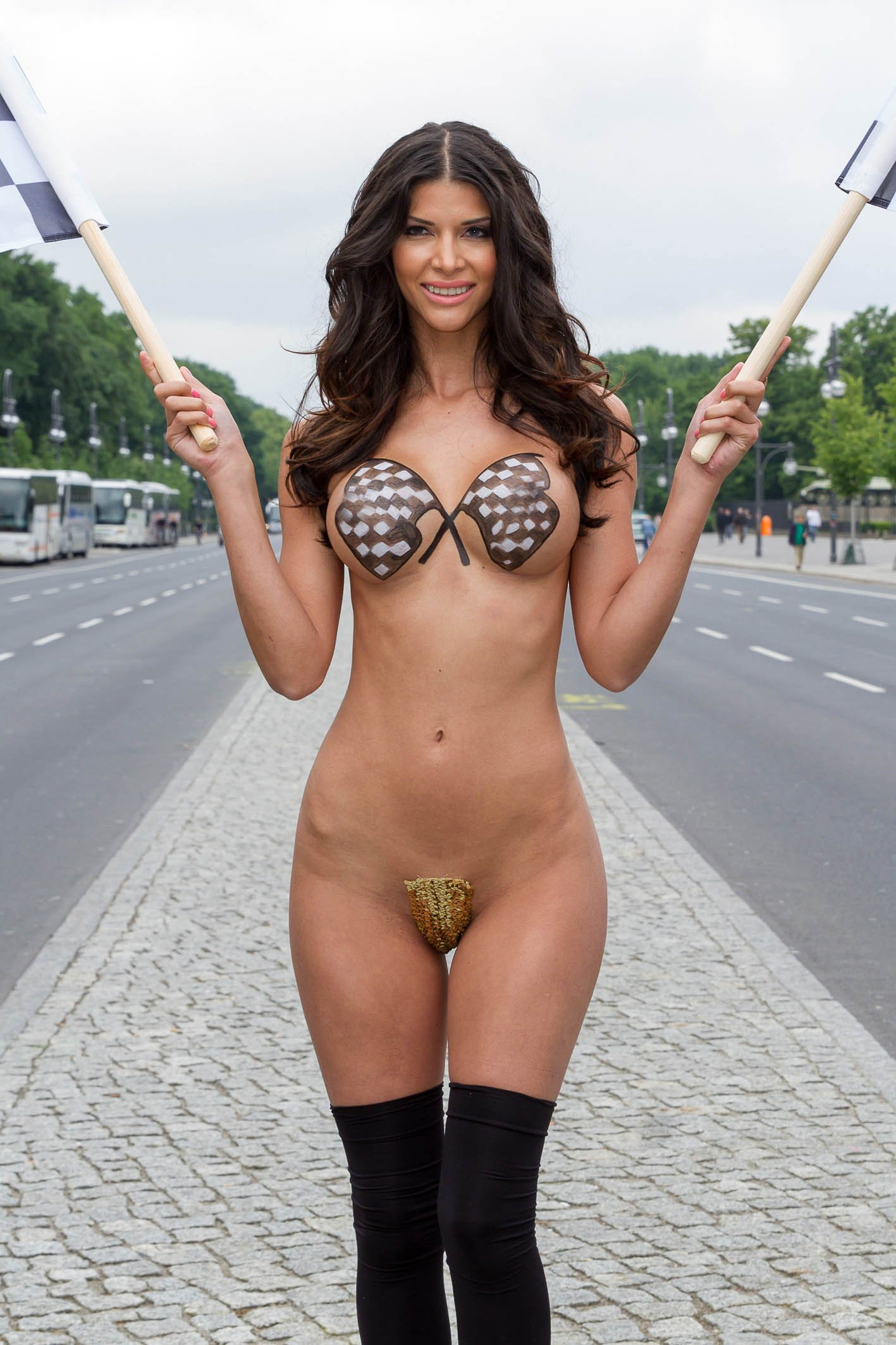 Hot german woman naked, busty nude gothic girls