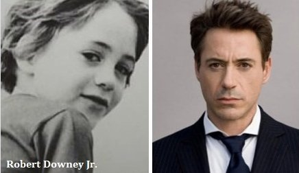 Известные актёры в детстве и сейчас (18 фото)