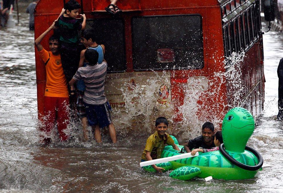 Положительная сторона наводнений