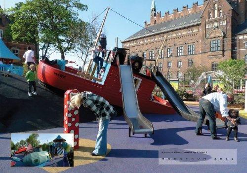 Детские площадки в Дании (25 фото + 1 видео)
