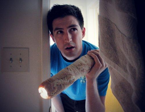 Багетинг: хлеб вместо предметов (13 фото)