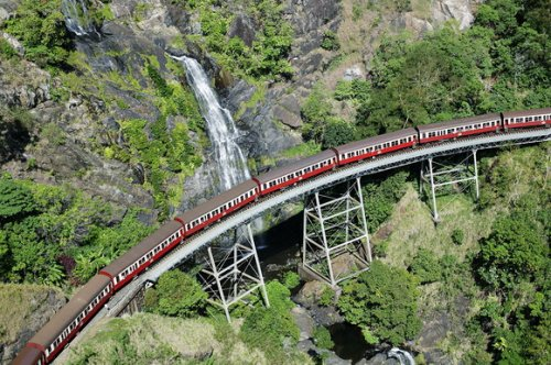 10 Захватывающих маршрутов поездов со всего мира