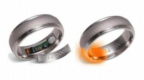 Кольцо-напоминание не даст вам опять забыть об очередной годовщине