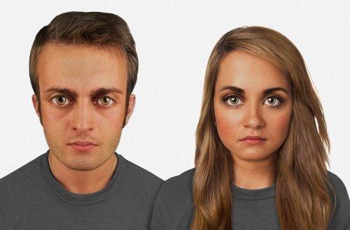 Внешность человека спустя десятки тысяч лет (4 фото)