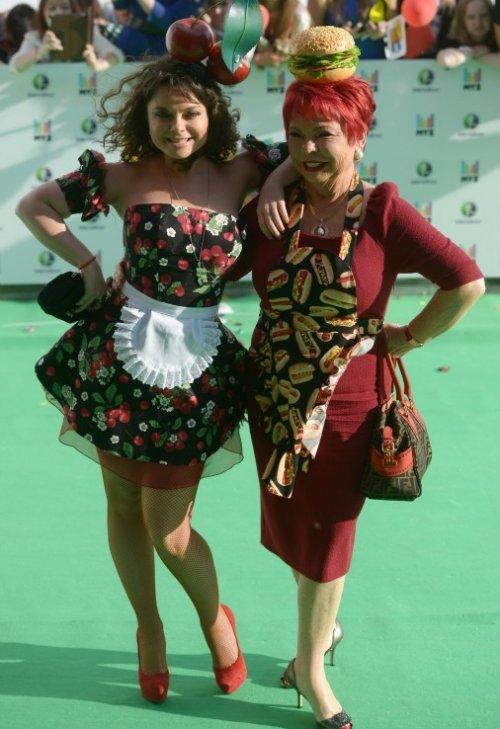 Самые яркие гости российской музыкальной премии Муз-ТВ (5 фото)