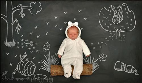 Оригинальные детские фотографии от Анны Ефтимие (12 шт)