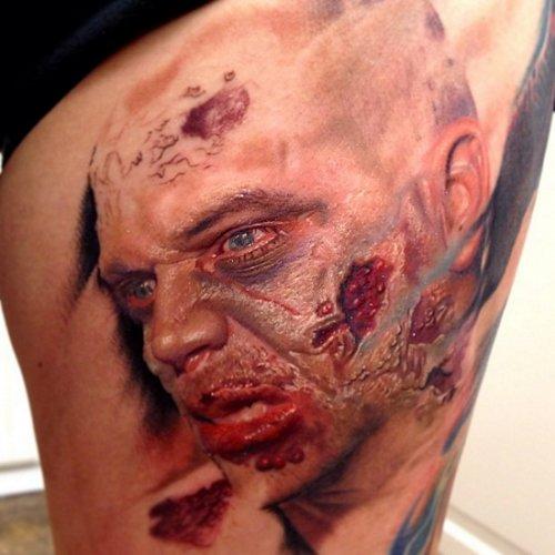 Татуировки, сделанные Рембером Ореллана (30 фото)
