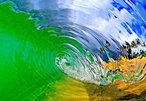 Изумительные фотографии гавайских волн, сделанные Кларком Литтлом (21 шт)