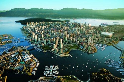 Города мира с высоты птичьего полёта (22 фото)