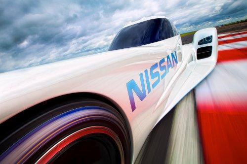 Новейший суперэлектромобиль Nissan ZEOD RC (7 фото + 1 видео)