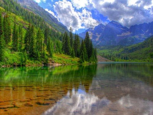 Красивые водные пейзажи (23 фото)