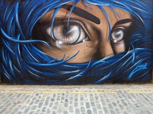 Работы уличного художника Eoin (9 фото)