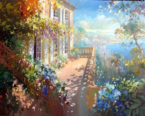 Солнечные картины Лорана Парселье (22 шт)