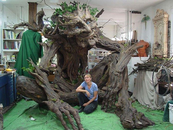 Как сделать большое дерево своими руками 45