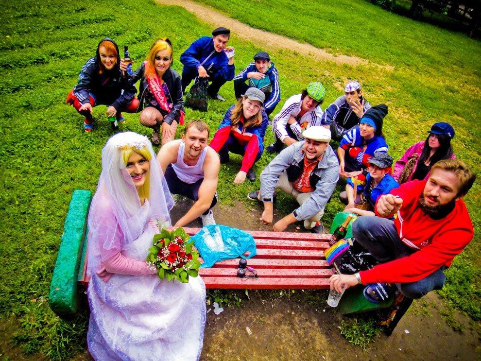 Необычные свадьбы фото россия