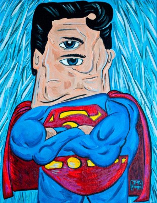 Супергерои, изображённые в стиле Пабло Пикассо (20 фото)