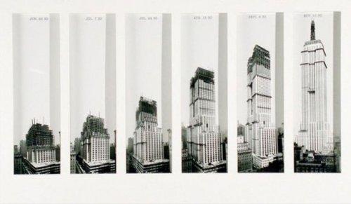 Ретро-фотографии строительства известных достопримечательностей (43 фото)