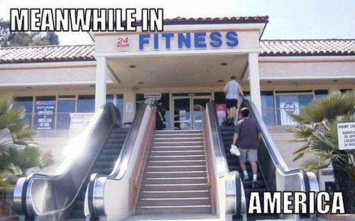 Тем временем в Америке (30 фото)