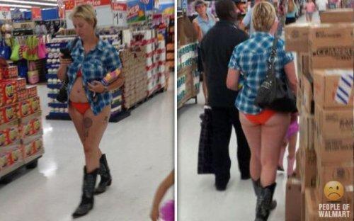 Чудаки в супермаркетах (28 фото)