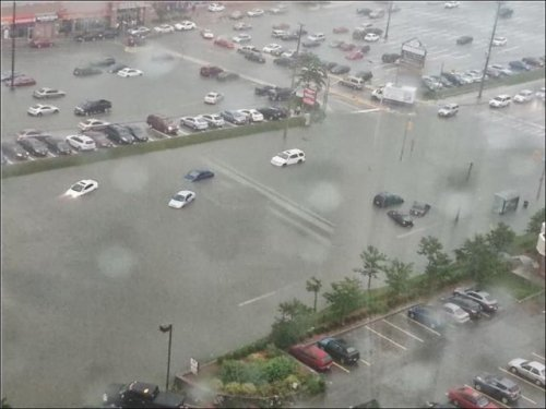 Наводнение в Торонто (21 фото)