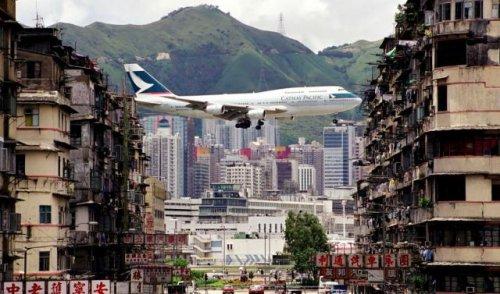 Кай Так – самый опасный в мире аэропорт (13 фото + 1 видео)