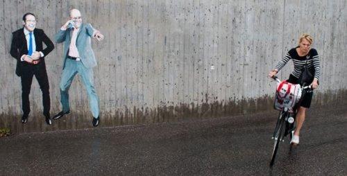 Работы уличного художника Herr Nilsson (16 фото)