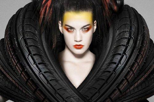 Рекламные фотографии для компании Goodyear Dunlop (7 фото)