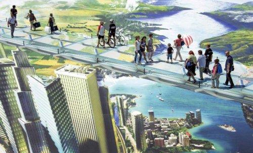 Самый большой в мире 3D-рисунок (10 фото)