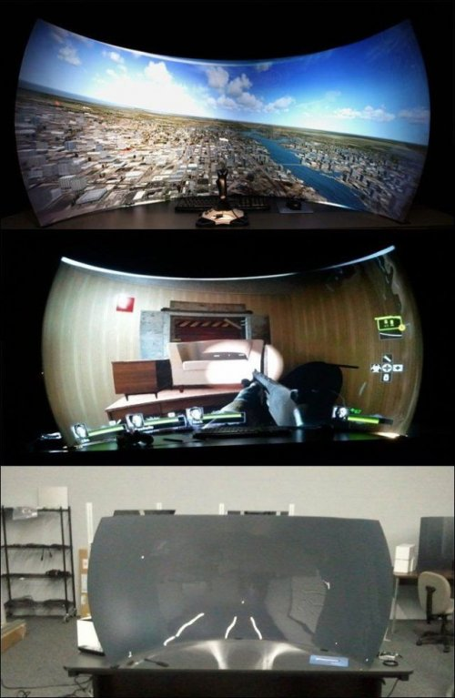 Прикольные игровые комнаты (24 фото)