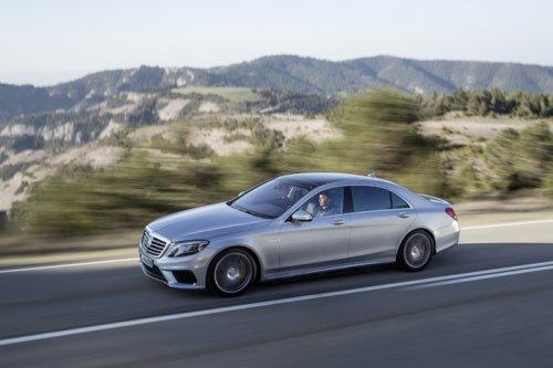 Новинка от немецкого автоконцерна: Mercedes-Benz S63 AMG (7 фото)