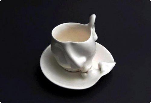 Прикольный дизайн чашек и кружек (19 фото)