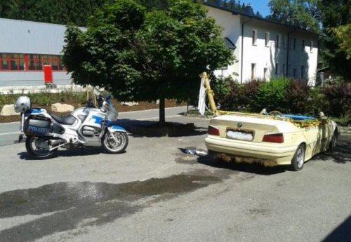 Как кабриолет адаптировать к жаркому лету (2 фото)
