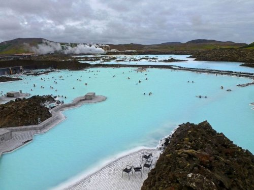 Голубая Лагуна – геотермальный спа-центр в Исландии (8 фото)