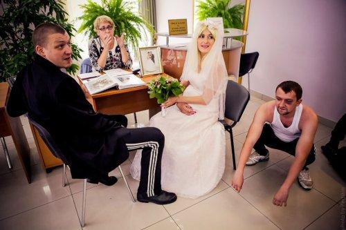 Быдлогоп-свадьба Виталика и Ирки (25 фото)